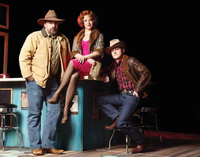 """Bus Stop"" is one of three plays on the stage in the Arvada Center this season, along with ""The Drowning Girls"" and ""Waiting for Godot."" All shows are being performed by a repertory group of actors."