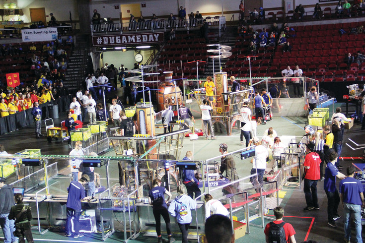 The Colorado regional event of the FIRST Robotics Competition March 24 at the University of Denver.