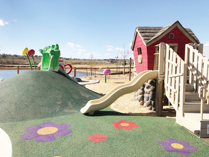 Hyland Hills Recreation District's new 81-acre Clear Creek Valley Park is located at the southern edge of the Hyland Hills district at 58th and Tennyson streets — on the eastern border of the Arvada city limits, a mile south of where Westminster and Denver meet.