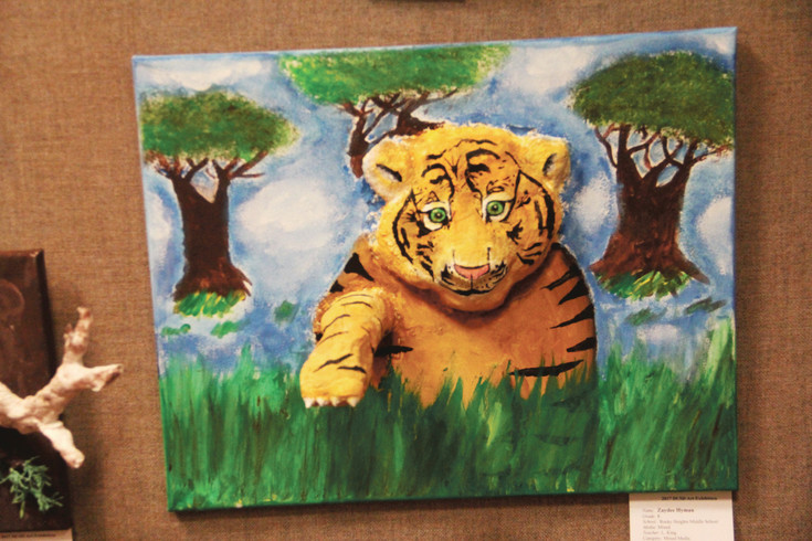 3D art by Zaydee Hyman, an eighth-grade student at Rocky Heights Middle School.