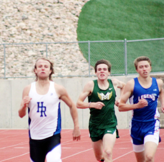 Highlands Ranch senior Kaden Lathrop, who won the 800 and 1,600 at the April 3 Highlands Ranch Invitational, claims elite 800-meter runners need guts to compete. Lathrop showed grit last spring when he missed five weeks of training after undergoing surgery for a ruptured appendix but came back three weeks before the Class 5A state meet and finished fifth in the 800 meters.