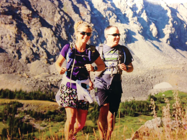 Steve and Tonia Smith of Colorado Springs go for a run to take in some scenery and get exercise. Dr. Kathy Vidlock of Colorado Orthopaedics recommends people try to walk for 30 minutes three times a week to get started on an exercise regimen.