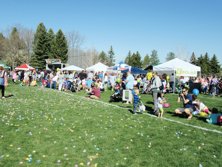 Residents flock to Northridge Park, 8800 S Broadway, for the annual Easter Egg Hunt. hosted by the Highlands Ranch Community Association. The family-freindly event included an egg hunt, vendors and a visit from the Easter bunny.
