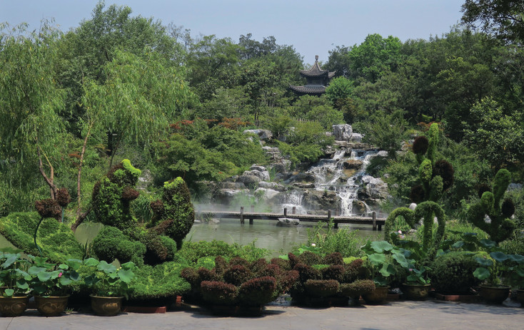 "At the Colorado Water Garden Society's ""Get Wet Program on April 27, Aquatic Horticulturist Tamara Kilbane will talk about gardens she visited in China, including Slender West Lake Gardens in Yangzhow."