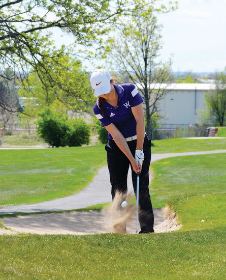 Arvada West senior Leigh Robinson has steadily improved after finishing tied for 36th place in last spring's state tournament.