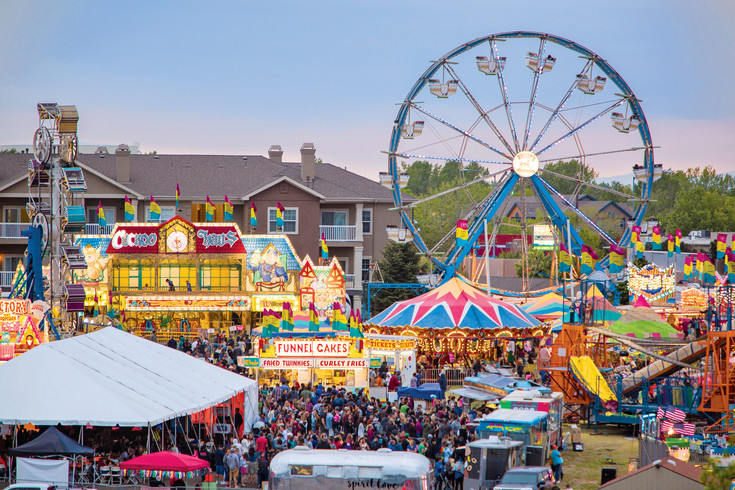 A look at the midway at Northglenn's 2016 Food Truck Carnival, with the ferris wheel in the background. The event returns May 12-14 with nearly three times as many food trucks.