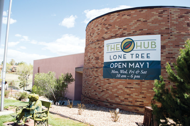 The Lone Tree Hub opened its doors to the community on May 1.
