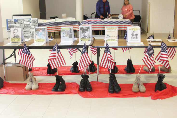 The pictures and memorials honoring Englewood veterans who gave their lives in the service of their country was among the displays at the celebration in conjunction with Memorial Day held at Englewood High School. Fallen veterans will be honored again this year at the ceremonies being held May 28.