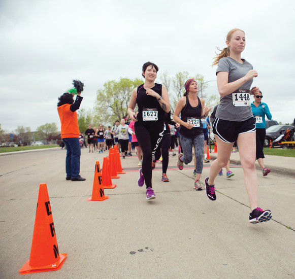 The Hope House 5K and Fun Run brought over 350 people to Lake Arbor Park in Arvada May 6.