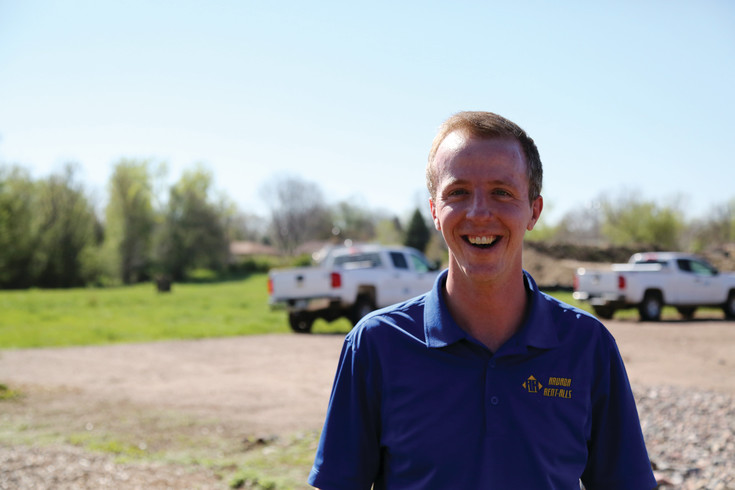 Andrew Heesacker is the general manager at Arvada Rent-Alls.