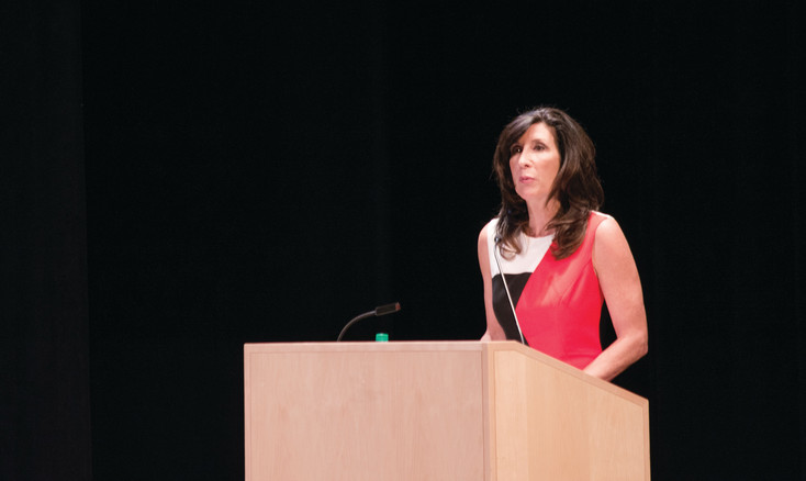 During the State of the City speech on May 11, Mayor Jackie Millet explained Lone Tree's goals.