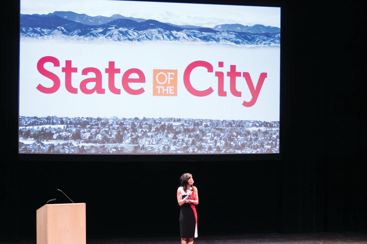 During the State of the City speech on May 11, Mayor Jackie Millet spoke of the past, present and future of Lone Tree.