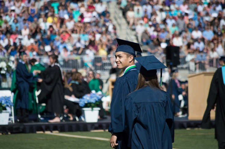 ThunderRidge High School seniors Graduated at Echo Park Stadium on May 16.