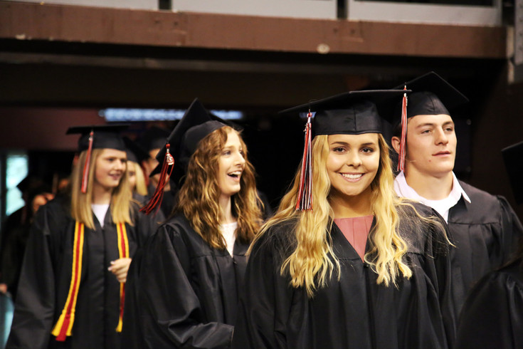 Jordan King was one of over 300 Pomona High seniors to graduate May 18 at the 1st Bank Center in Broomfield.