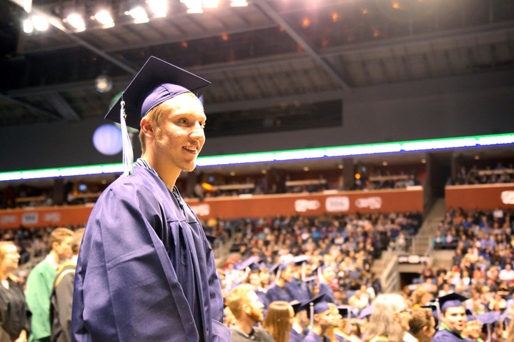 Matthew Johnstone was one of 256 seniors to graduate from Standley Lake High School.