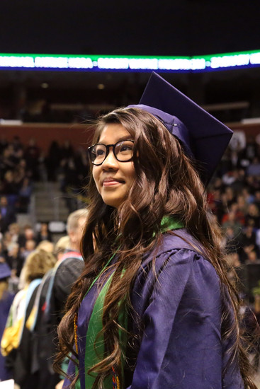 Thu Nguyen is one of 28 Standley Lake seniors graduating with an IB diploma.