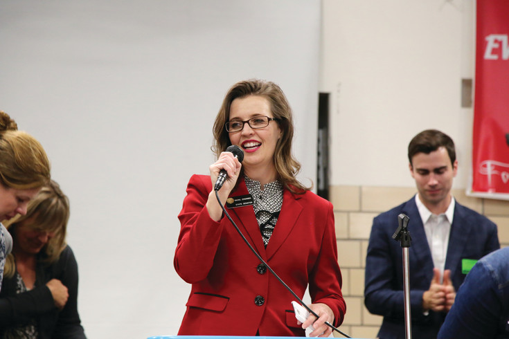 State Senator Rachel Zenzinger was intrimental in getting the Seal of Biliteracy bill passed.