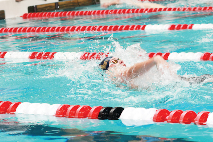 Casey Hamilton of Legacy finished seventh in the 200 IM and was fourth in the 100 backstroke at the Class 5A State Swimming Championships which concluded May 20 at the Veterans Memorial Aquatics Center in Thornton.