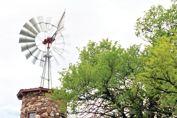The cobblestone tower that sits atop the grassy hill south of the Highlands Ranch Mansion and north of Mountain Vista High School now has its windmill back. Repairs were completed the weekend of May 12.