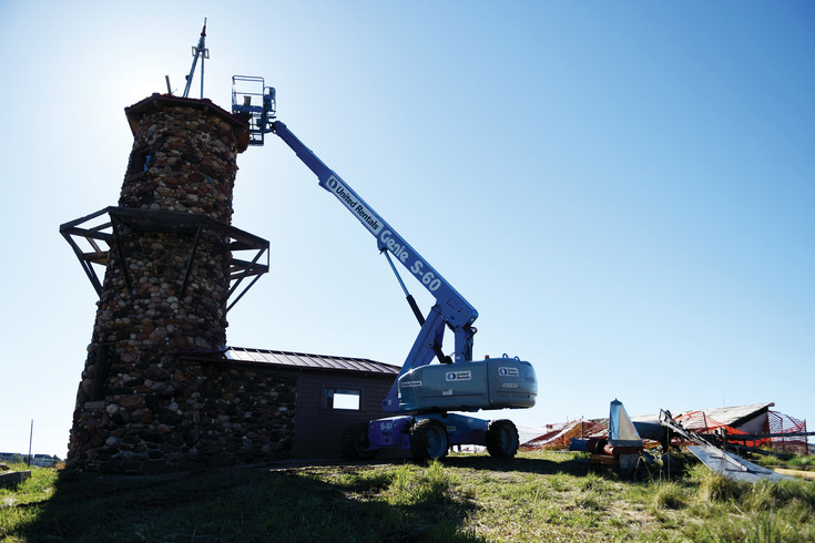 Douglas County contributed $75,000 of the windmill repairs and the Highlands Ranch Metro District payed the remaining $116,000, according to the metro district. Repairs were completed the weekend of May 12 after nearly a year of the tower missing its superstructure.