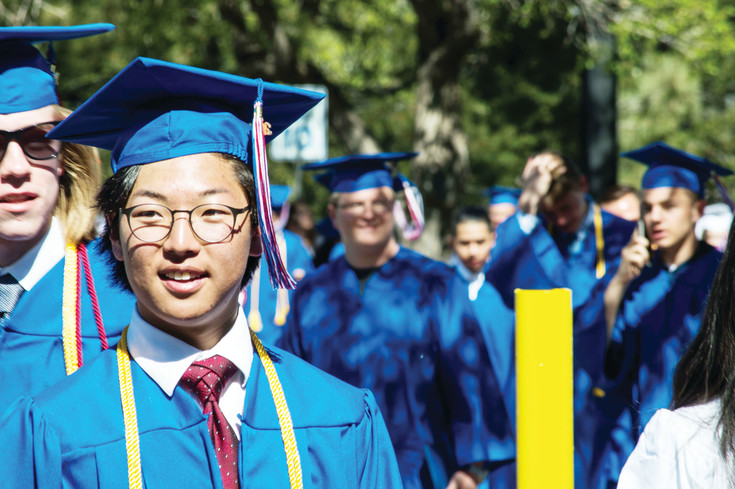 Cherry Creek High School held their graduation ceremony at the Stutler Bowl Stadium on May 24.