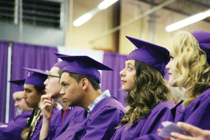 Long View High School graduated 21 students at its 23rd commencement ceremony held May 27 at Warren Tech.