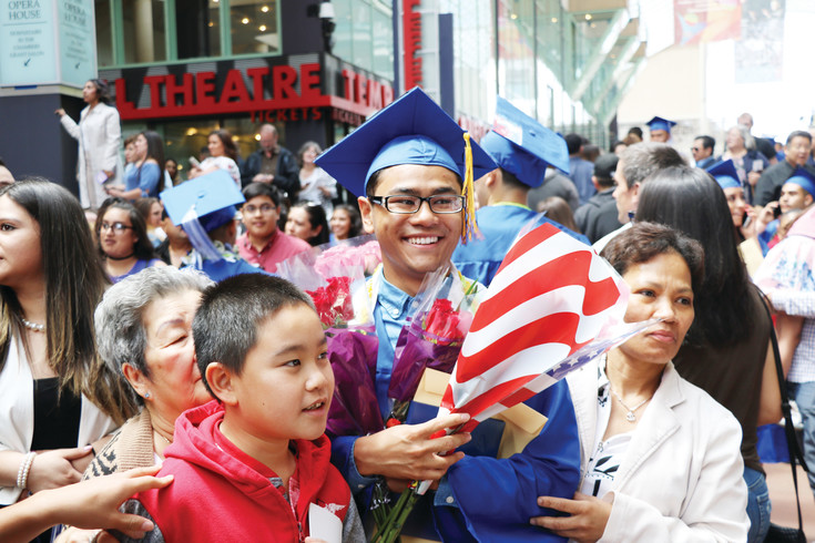 Alameda High School's graduation was an opportunity for family and friends to celebrate the achievements of the students, who worked so hard to turn their tassels at the Ellie Caulkins Opera House on May 23.