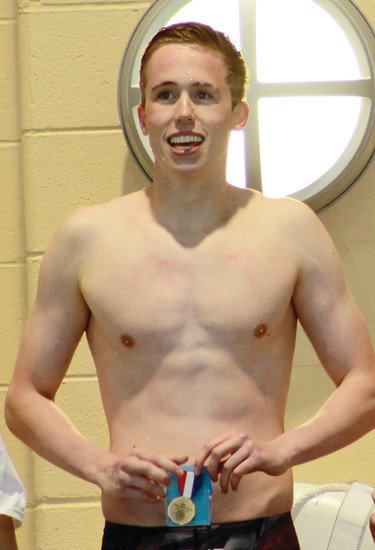 Arapahoe senior Griffin Eiber is the Colorado Community Media South Metro Boys Swimmer of the Year.