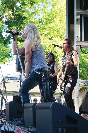 The band Warrant rocks the house at Freedom Fest 2016. The event is back at Platte River Bar & Grill in Littleton on June 17.