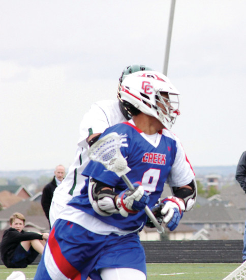 Asher Nolting of Cherry Creek is the Colorado Community Media South Metro Boys Lacrosse Player of the Year.
