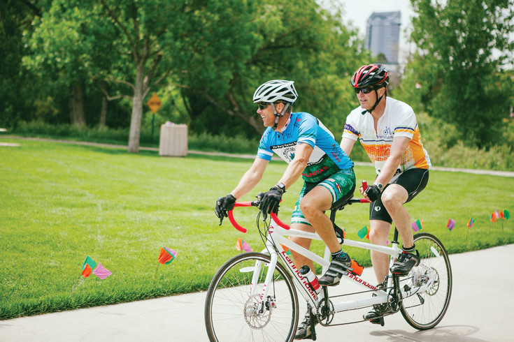Pedaling 4 Parkinson's is a bike race that raises support for Parkinson's research.