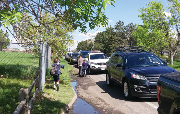 Along West 50th Avenue, it is not uncommon to see a long line of cars dropping off or picking up children from Fairmount Elementary and Cornerstone Montessori schools. Construction on a sidewalk project to provide a safe, pedestrian-and-bike friendly route to school is slated to begin in summer 2018.