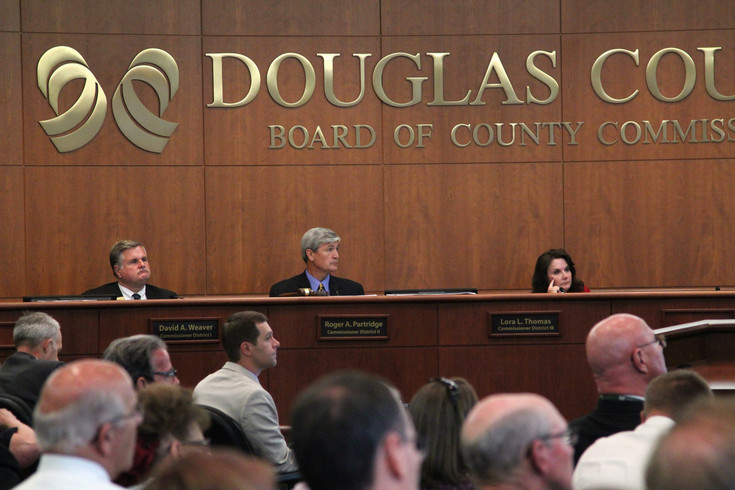 Commissioners listened to three hours of presentations from Lora Thomas and administration within the Douglas County Sheriff's Office on June 13 as the board considered Thomas' proposal to shift some sales tax dollars from the the justice center to roads and transportation.