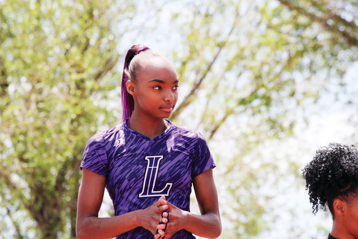 Lutheran junior Maya Evans is the Colorado Community Media Girls South Metro Track Athlete of the Year.