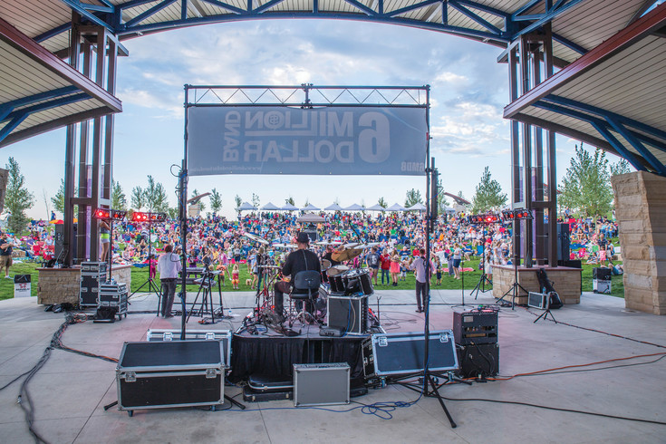 "The 6 million Dollar Band will perform at Centennial Center Park at the June 24 Summer Celebration and a movie, ""The Librarian: a Quest for the Spear"" will run at dusk at the free Summer Celebration."