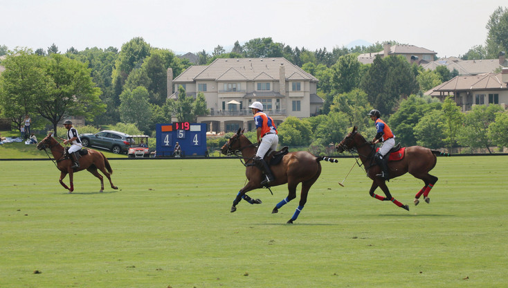 Polo players show off their skills at Denver Polo Classic Family Day on June 24 at Polo Reserve,  4400 W. Mineral Ave. Lockton Championship Day, when the Denver Polo Classic champion is crowned, took place the following day.