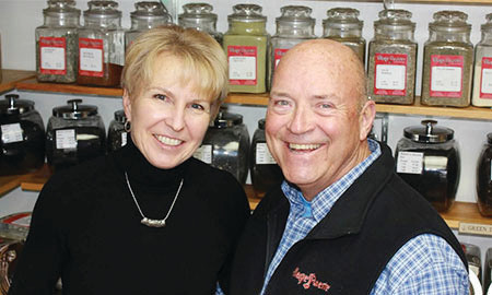 Kate and Jim Curtis, owners of Village Roaster, a coffee store based in Lakewood.