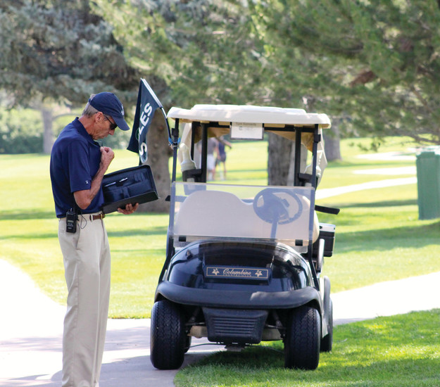 Tom Kennedy retired as a Colorado Springs district judge in 2015 and is now a United States Golf Association chief rules official.