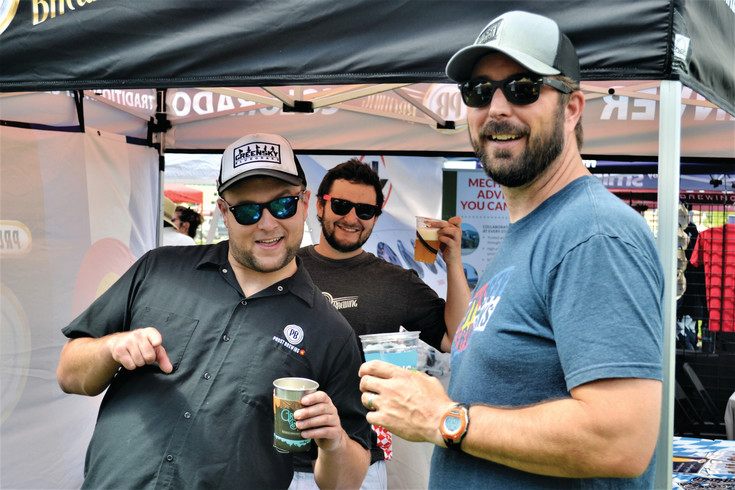 A scene from last year's Arvada beer festival. Arvada On Tap will feature beer from 25 brewers this year.