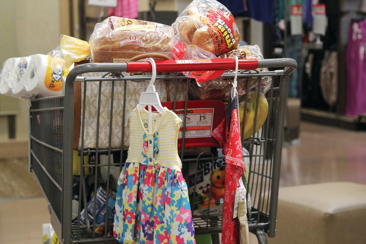 Shoppers at the King Soopers Marketplace in Castle Rock can find a variety of merchandise, from grocery needs to clothing.