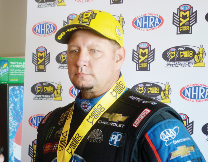 Driver Robert Hight didn't blame altitude sickness for his stomach being upset on July 23 but he was feeling better after he snapped a streak of 34 races without a victory. He defeated Tommy Johnson Jr. to win the Funny Car title at the Mopar Mile High Nationals at Bandimere Speedway.