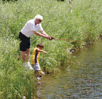 Pine Valley Ranch is one of the most popular fishing spots in Jefferson County for lake and family fishing. Shaun Howard, ranger lead with Jefferson County Open Space, said the park is a great starter location for anglers, and from there, they can move on to places like Lair o' the Bear and Bear Creek Lake Park.