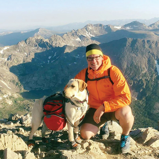 David Coles of Castle Rock began training and running ultra marathons to raise money for the National Sports Center for the Disabled in January.