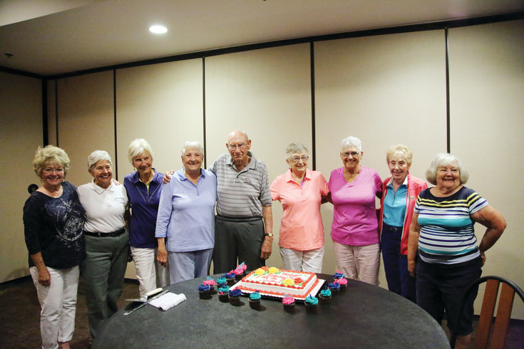 The women in their 80s were also recognized at the Wednesday morning celebration.