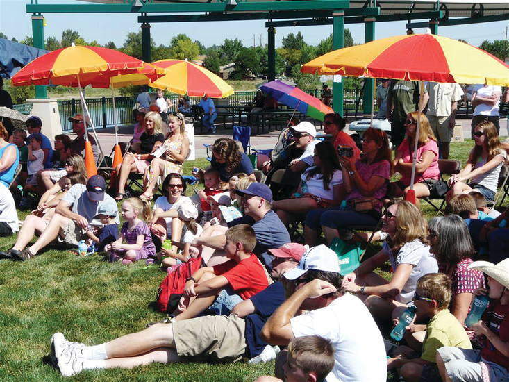 Concert-goers at the 2016 WestyFest gathered to listen to live music. This year, the Community Stage will be at the center of Westminster City Park with the other attractions – including food, beer, vendors and kids activities an games – fanned out around it. WestyFest is scheduled to open at 10 a.m. Aug. 12 in Westminter City Park, 10455 Sheridan Blvd.