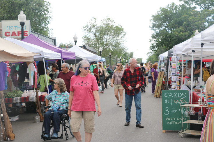 This year, the Edgewater Market and Music event is at West 25th Avenue and Sheridan Boulevard on Thursdays through Sept. 7, in the city's historic shopping district.