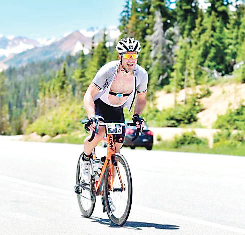 Brian Baker of Vail races in the Haute Route Rockies earlier this summer. Baker races all over the state throughout the summers, and this will be his second year to participate in the Golden Gran Fondo, which takes place Aug. 27 beginning at 8 a.m. underneath the welcome arch in downtown Golden.