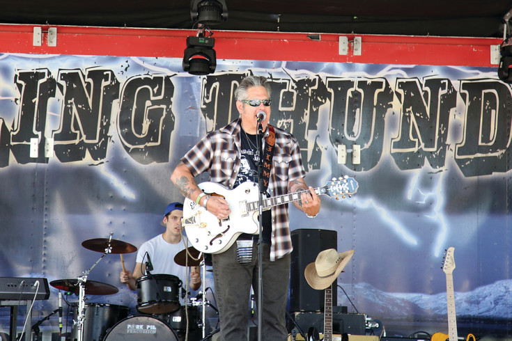 The band Rolling Thunder plays Sunday, Aug. 13 at the Wheat Ridge Carnation Festival.