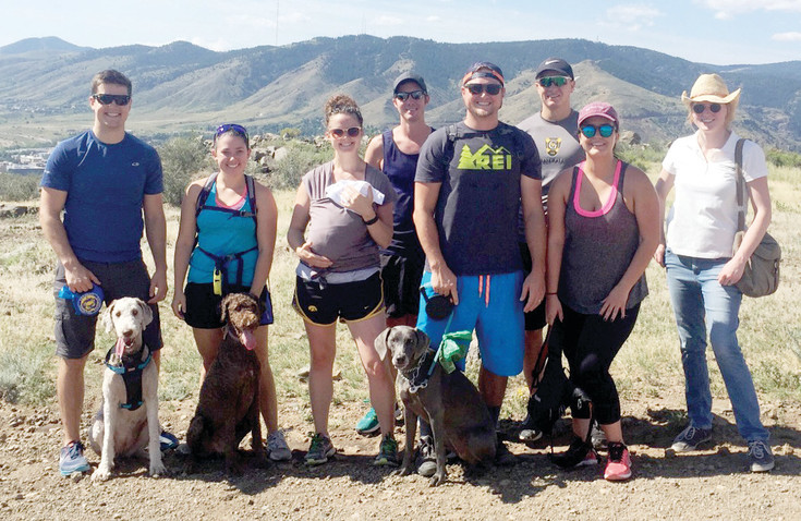 West Chamber Young Professionals go on a hike as one of their monthly activities. The group targeted for people 40 and younger puts a fresh spin on networking.