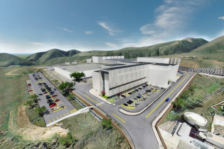 A rendering of the $350 million satellite production facility under construction at Lockheed Martin's Waterton Canyon campus in south Jefferson County.